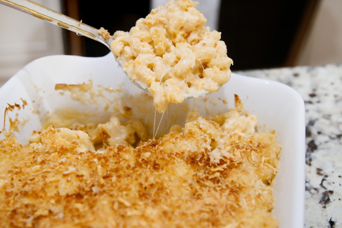 Recette de mac and cheese en gratin